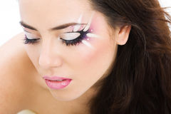 Artistic make-up Stock Photo