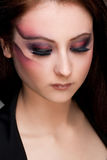 Artistic makeup Stock Image