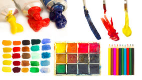 Artistic material royalty free stock image