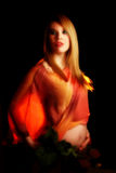 artistic maternity Στοκ Εικόνες