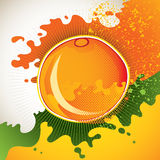 Artistic orange background. Stock Photography