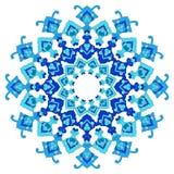 Artistic ottoman pattern series eighty five Stock Image