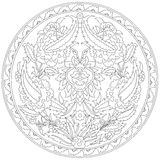 Artistic ottoman pattern series fourty eight Stock Images