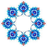 Artistic ottoman pattern series fourty fifty Royalty Free Stock Photo
