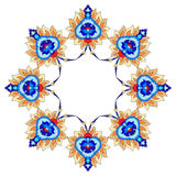Artistic ottoman pattern series fourty nine. Ornament and design Ottoman decorative arts Royalty Free Stock Photo