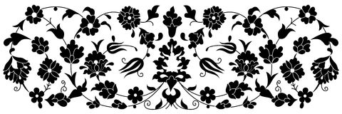 Artistic ottoman pattern series fourty one Royalty Free Stock Images