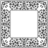 Artistic ottoman pattern series fourty Stock Photo