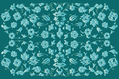 Artistic ottoman pattern series fourty six Royalty Free Stock Photos