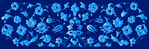 Artistic ottoman pattern series fourty three Royalty Free Stock Images
