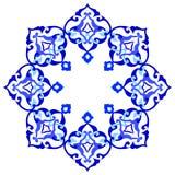Artistic ottoman pattern series ninety eight Stock Photography