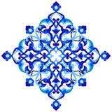 Artistic ottoman pattern series ninety nine Royalty Free Stock Photo