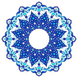 Artistic ottoman pattern series ninety Royalty Free Stock Images