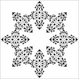Artistic ottoman pattern series seventy five Stock Photography