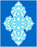 Artistic ottoman pattern series seventy four Royalty Free Stock Images