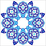 Artistic ottoman pattern series seventy nine Stock Images