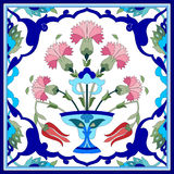 Artistic ottoman pattern series seventy one Royalty Free Stock Photos