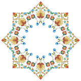 Artistic ottoman pattern series thirty five. Ornament and design Ottoman decorative arts Stock Image
