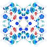 Artistic ottoman pattern series thirty four Stock Image