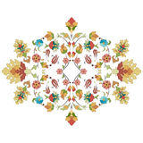 Artistic ottoman pattern series thirty three Stock Images