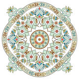 Artistic ottoman pattern series three Royalty Free Stock Image