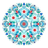 Artistic ottoman pattern series twelve Royalty Free Stock Images