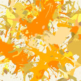 Artistic paint splashes Royalty Free Stock Images