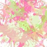 Artistic paint splashes Royalty Free Stock Image