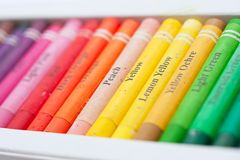 Artistic pastels Royalty Free Stock Photography
