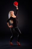 Artistic photo of female dancer Royalty Free Stock Photos