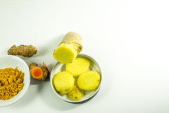 Artistic Presentation of Spices Royalty Free Stock Photo