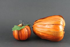 Artistic pumpkins Stock Image