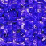 Artistic purple tile mosaic Royalty Free Stock Photos