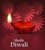 Artistic religious colorful diwali festival  Stock Image