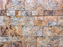 Artistic sandstone wall texture background patterns Royalty Free Stock Photo