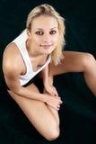 Artistic shot a beautiful woman. Royalty Free Stock Image