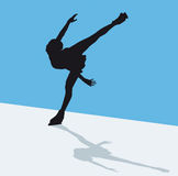 Artistic skating Royalty Free Stock Photography