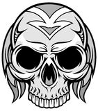Artistic skull 71 Royalty Free Stock Photo