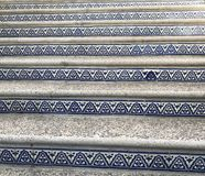 Artistic Stairs. Stairs of artistic pattern with Turkish title Royalty Free Stock Image