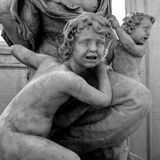 Artistic statue Royalty Free Stock Photos