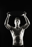 Artistic, strong male royalty free stock images