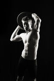 Artistic, strong male stock photography