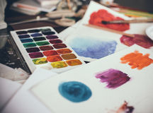 Artistic studio Royalty Free Stock Photography