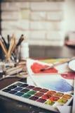 Artistic studio Stock Image