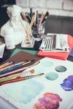 Artistic studio Royalty Free Stock Photos