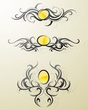 Artistic swirls Royalty Free Stock Images