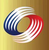Artistic Swirls Logo Stock Image