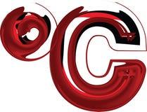 Artistic Symbol illustration Royalty Free Stock Image