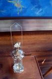 Artistic tea light holder lantern Stock Image