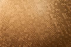 Artistic textured golden background. Royalty Free Stock Photo