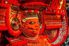 Artistic tradition in Kerala stock photo